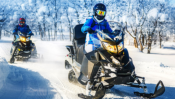 Snowmobiling Package in Hancock, Michigan Hotel