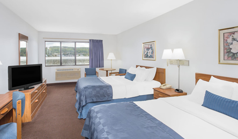 Double Queen Room in Ramada by Wyndham Hancock Waterfront